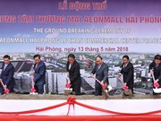 越南政府总理阮春福视察海防市部分重大经济社会工程
