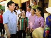 王廷惠:宣光省农业发展与生态环境保护需并行
