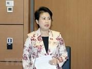 越南国会常务委员会通过决议 免去潘氏美青国会代表资格