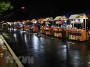 河内市第二条步行街开街吸引6千人次前来观光