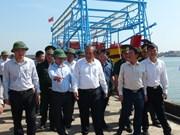 政府副总理张和平慰问广平省民众