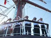越南海军学院工作组圆满结束海上训练和访问柬泰两国之行