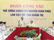 阮春福:广治省应集中建设为人民、为企业服务的治理机制