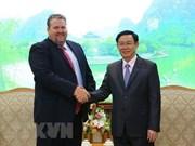 政府副总理王廷惠:越南政府欢迎AES公司对广宁省蒙阳2热电厂进行投资
