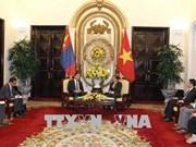 越南与蒙古加强多领域合作
