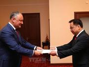 摩尔多瓦总统:摩尔多瓦高度重视对越传统友谊