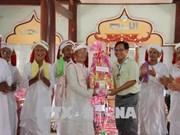 平顺省领导庆祝信奉回教占族同胞的2018年拉姆弯节