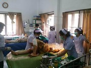 泰老归侨在老挝中部遭遇事故