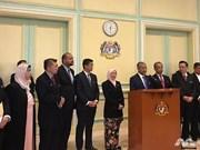 马来西亚新内阁举行第一次会议