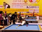2018年世界杯开伦(三球)台球锦标赛在胡志明市举办