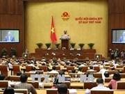 越南第十四届国会第五次会议29日就3部法律草案进行讨论