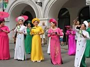 2018年捷克全国少数民族文化节: 越南艺术代表团吸引住观众的眼球