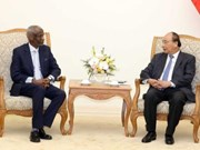 阮春福总理会见来越履新的苏丹驻越大使