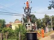 农村电气化计划使农村面貌发生翻天覆地的变化