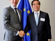 越南优先与比利时和欧盟发展经济合作