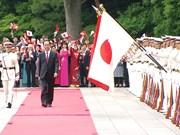 陈大光主席以国宾身份访问日本引起日媒的高度关注