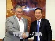 越南共产党代表团对希腊进行工作访问