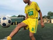 越南的两名儿童球员将前往俄罗斯参加国际足球赛