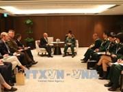 第十七届香格里拉对话会:越南防长吴春历同新西兰、英国、新加坡等国领导举行双边会晤