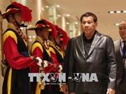 菲律宾总统访韩 促进两国防务安全关系