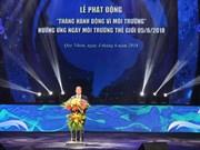 2018年越南致力于国家环境行动月:摈弃坏习惯 告别塑料袋