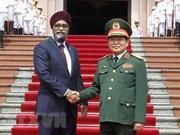 加拿大国防部长:各国应尊重国际法和东海航行自由