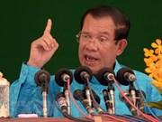 柬埔寨首相提出继续执政十年的目标