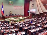 老挝第八届国会第五次会议讨论许多重要议题