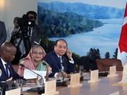 加拿大媒体:越南出席G7峰会扩大会议为建立越加经济和地缘战略关系提供机会