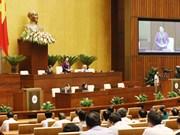 越南第十四届国会第五次会议:11日国会代表集中对两个法案建言献策