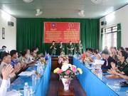 越南与柬埔寨边境地区人民加强团结友谊