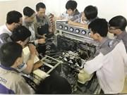 为贫困青年进行职业培训