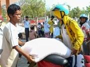 越南政府副总理决定向崑嵩省发放大米