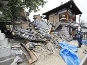 尚无越南公民在日本6.1级地震中伤亡的报告