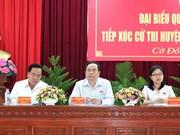 国会代表在全国各地开展接待选民活动   倾听选民的心声与愿望