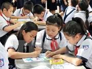 越南促进对初中等教育课程教材的改革