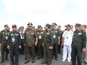 柬埔寨副总理兼国防部长狄班走访平福省