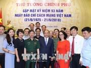 政府总理阮春福: 把握新媒体技术和新闻报道新方式