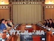 胡志明市与菲律宾加强经贸合作