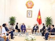 越南政府总理阮春福会见意大利最大保险公司领导