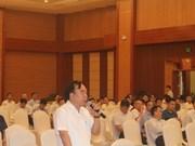 河南省领导与企业进行对话