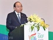 越南政府总理阮春福:越南愿同全球环境基金携手促进可持续发展