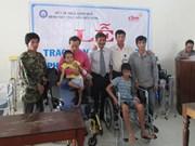 外国组织携手为承天顺化省儿童和残疾人提供帮助