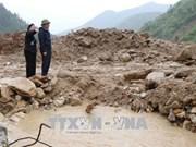 国会副主席冯国显视察莱州省洪灾灾情