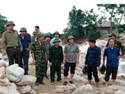 越南北部山区各省努力展开灾后恢复重建工作