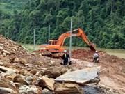 北部山区暴雨洪灾救灾工作:多条国省干线公路修复工作完成通车