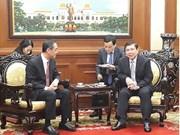 胡志明市领导会见中国驻胡志明市新任总领事