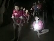 泰国少年足球队13人失踪九天后被找到