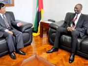 莫桑比克欢迎越南企业前来投资兴业