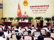 河内市第十五届人民议会召开第六次会议